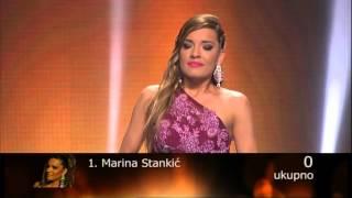 Marina Stankic - Pozeli srecu drugima - (live) - ZG polufinale 14/15 - 20.06.2015. EM 43