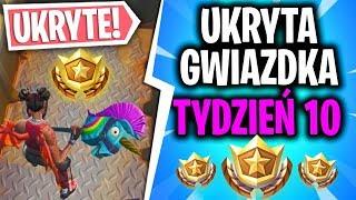 UKRYTA GWIAZDKA! - TYDZIEŃ 10 SEZON 8 - Fortnite Battle Royale