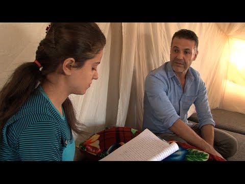 Iraq: Khaled Hosseini Visits Syrian Refugees