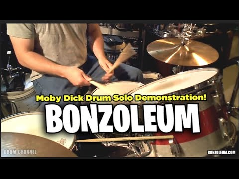 John Bonham MOBY DICK DRUM SOLO  *DEMONSTRATION  LED ZEPPELIN