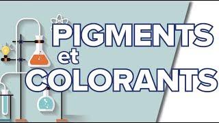 Pigments et Colorants - 1S