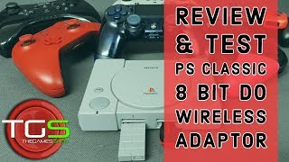 Review & Test - 8 Bit Do Wireless Adaptor for PS Classic
