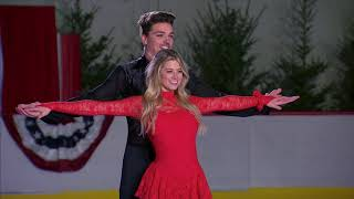 Dean And Lesley On Ice- The Bachelor Winter Games