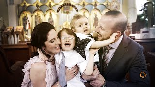 The Beautiful Baptism of Pete // A Greek Orthodox Baptism