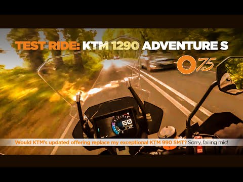 O75 review of the KTM 1290 Adventure S