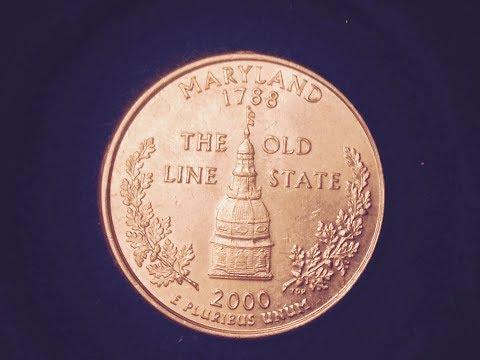2000 State Quarter: Maryland
