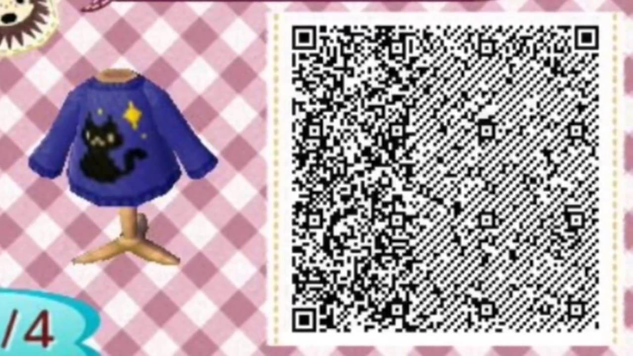 ACNL QR Codes For Halloween - YouTube