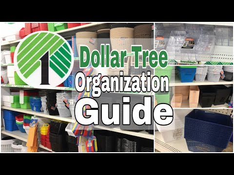 An Organizers Guide to Dollar Tree
