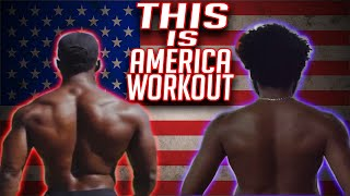 This Is America!! (Full Body Workout) (ALL LEVELS)