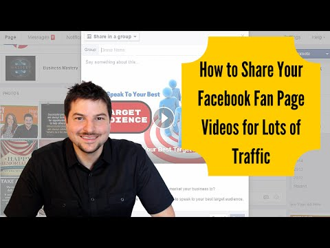 How To Post Fan Page Content in Facebook Groups