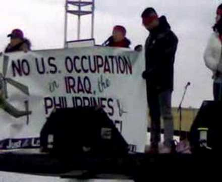 AJLPP Speech @ March on the Pentagon, March 17