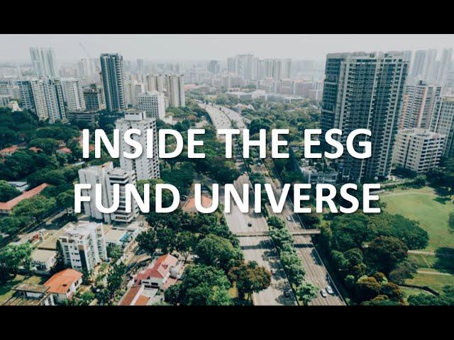 Inside the ESG Fund Universe