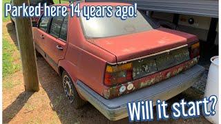 Will it Start? Diesel Jetta parked 14 Years ago