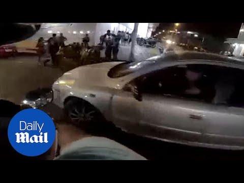 Biker Gets SHOT After Kicking Car Mirror In Road Rage Incident