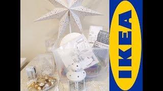 Покупки в IKEA Новогодняя коллекция ВИНТЕР 2017