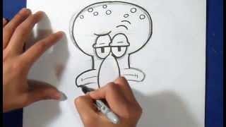 как рисовать Squid - Губка Боб(рисунок Squid - Губка Боб Музыка (Audiomicro.com) Exciting Electro Dubstep Story., 2015-02-15T20:24:52.000Z)