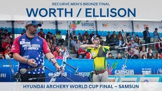 Taylor Worth v Brady Ellison – recurve men's bronze final | Samsun 2018