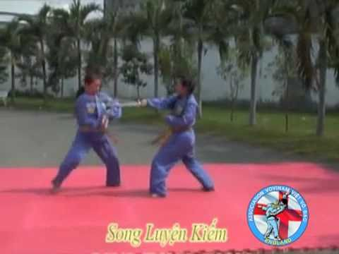 Vovinam - Song luyện kiếm
