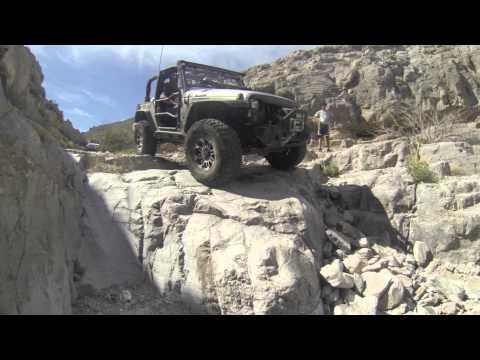Jeep Devil's Peak trail, rock crawling, March 14, 2015
