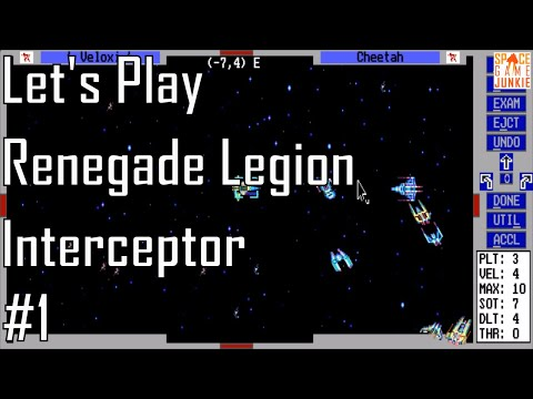 Renegade Legion: Interceptor - Saving an Asset - Let's Play 1/4
