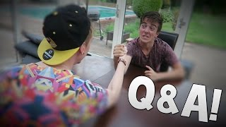 Q&A WITH SPARKLES! Racing, The Running Man & More!