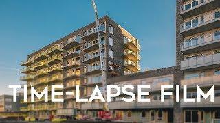 Time-lapse for byggeprosjekt på Oppsal senter i Oslo