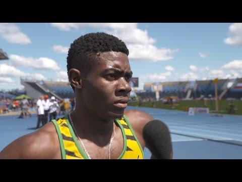 IAAF WU20 Championships Bydgoszcz 2016 400m Men Christopher TAYLOR JAM