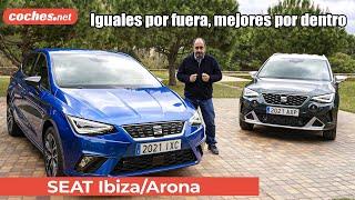 Seat Arona y Seat Ibiza 2021 | Primer vistazo / Review en español | coches.net