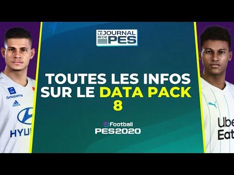 PES 2020 : Toutes les infos sur le Data Pack 8 !