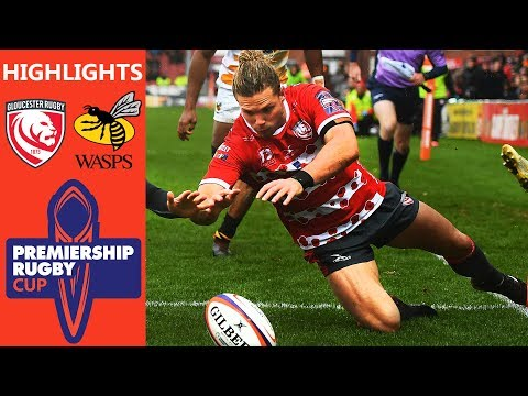 Gloucester Rugby v Wasps | Premiership Rugby Cup