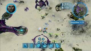 Halo Wars Gameplay - Campaign - HD
