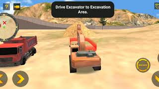 Heavy Excavator Simulator PRO - Android GamePlay  | android gameplay videos | kids gaming show screenshot 5