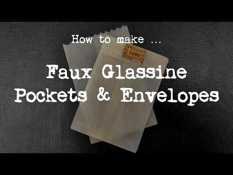 How to make ... Faux Glassine Pockets & Envelopes