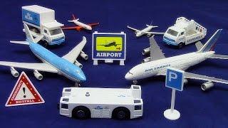 【航空機モデル】「エールフランス‐KLM空港プレイセット」ボーイング747-400型 01196 jp-c
