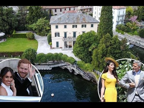 Lake Como - Some pictures where Meghan Markle and Prince Harry mini-moon