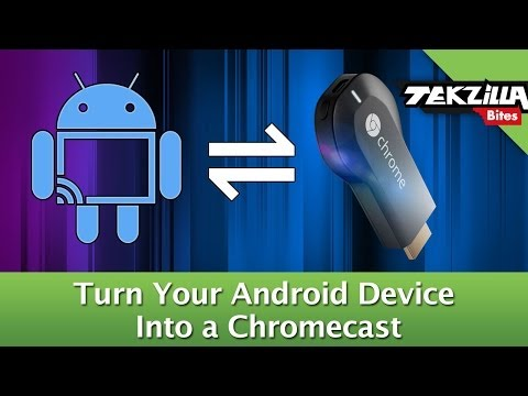 Turn Android Into A Chromecast!