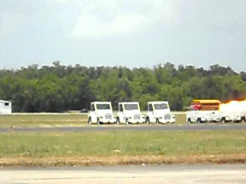 School Time Turbine Bus at N'Awlins Air Show, Belle Chasse NAS JRB, LA
