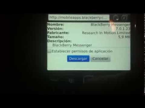 Regresar Ala Vercion Anterior De BlackBerry Messenger (bbm) V7 ( La Mejor)