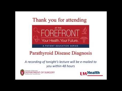 At the Forefront: Parathyroid Disease Diagnosis