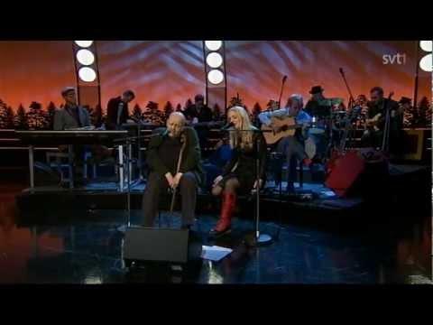 Sofia Karlsson & Freddie Wadling - Up Where We Belong (Live, På spåret, Dec. 2011)