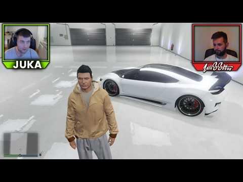 Amir vs. Juka - SAMO RAGE TRKE DO JUTRA - GTA 5 TRKE!!!