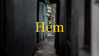 """Hẻm"" - hidden alley in Vietnam. / Cinematic film"