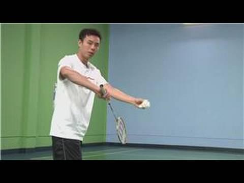 Badminton : Short Serve in Badminton