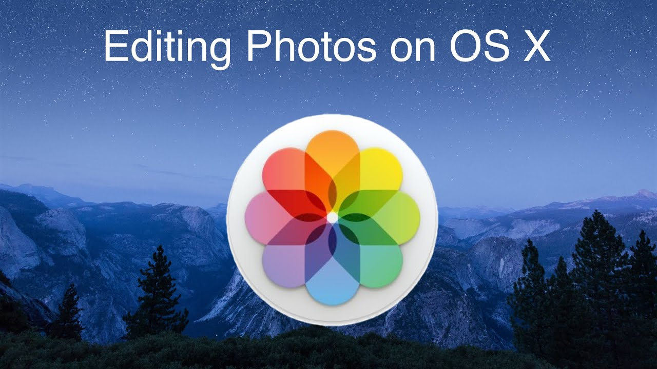 Editing Photos in OS X