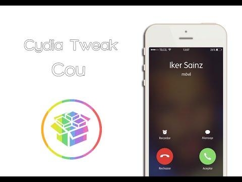 Cou - Cambia forma de contestar llamadas en bloqueo (Cydia) (Tweak)