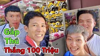 LamTV - Trận Chiến Gắp Thú Bông Thắng 100 Triệu | Claw Machines Battle Wins $100,000,000