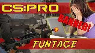 CS GO - Clutches and Getting a Girl Banned! (Funny Moments)