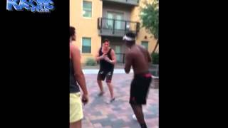 Black Guy Leaves White Guy Unconscious From A Soccer Kick To The Face