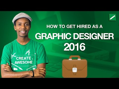 How to Get Hired as a Graphic Designer 2016