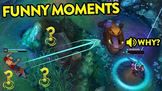 WATCH and TRY TO STOP LAUGHING - Super FUNNY Moments (League of Legends)